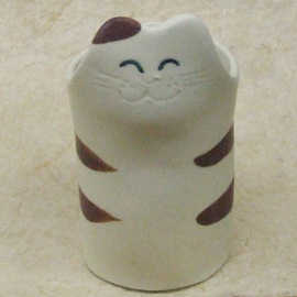 猫柄の食器