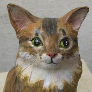 あなたの愛猫、愛犬を粘土で制作します。(立体タイプ)