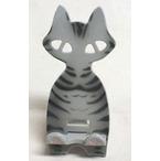 陶の猫スマホ置き